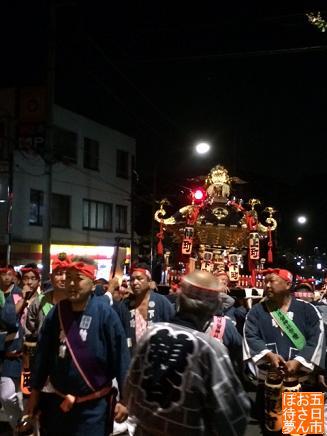 阿伎留神社の神輿